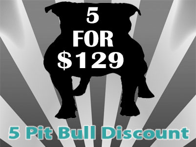 APBR 5 Pit Bull registration discount