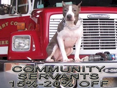 community servants pit bull discount registration