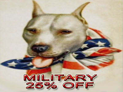 military discount pit bull registration