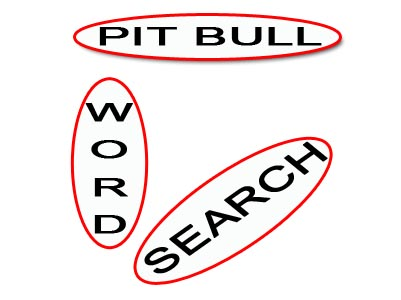 Pit Bull word search